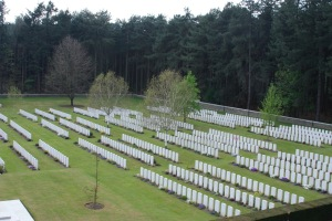 Polygon Wood Commonwealth War Graves